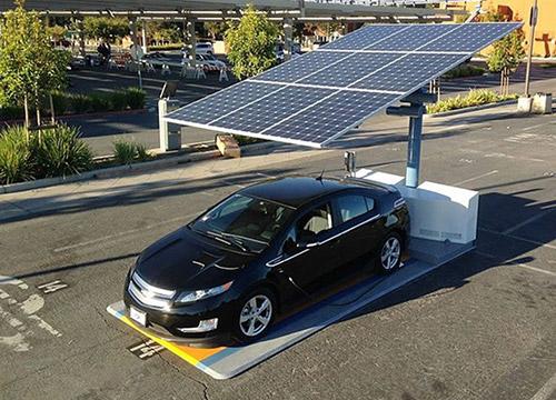 太陽光発電EVカーポート