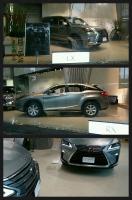 レクサス LX 新型RX 青山ショールーム