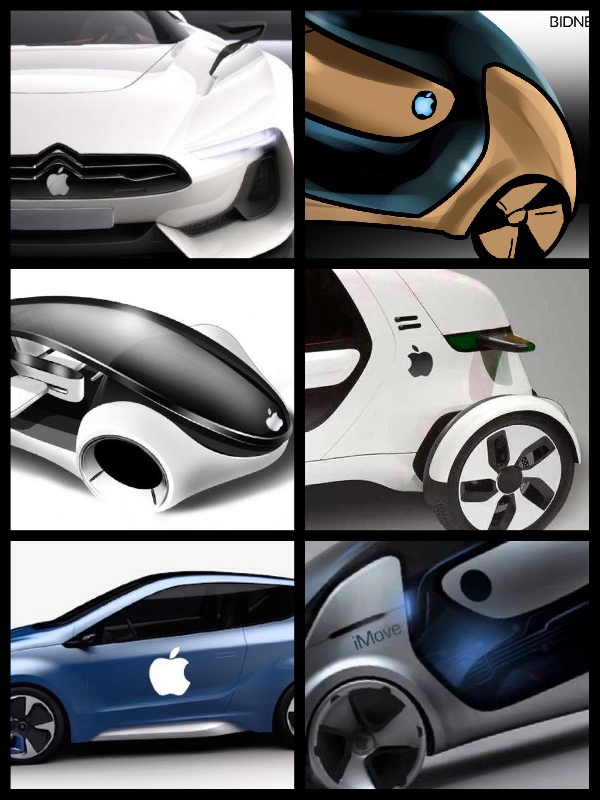 スティーブ ジョブズ Apple EV car
