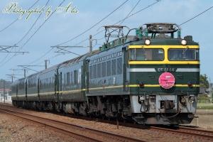 9014レ(=EF81-44牽引)