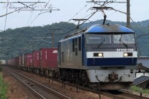 61レ(=EF210-109牽引)