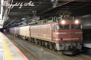 3093レ(=EF81-725牽引)