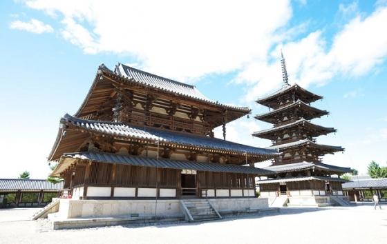奈良の法隆寺2