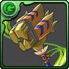 レックスネコ轟槌 武器