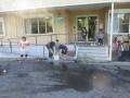水遊びシャボン玉2