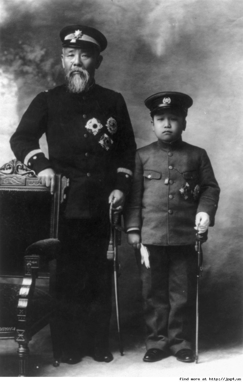 ①伊藤博文公と韓国王子