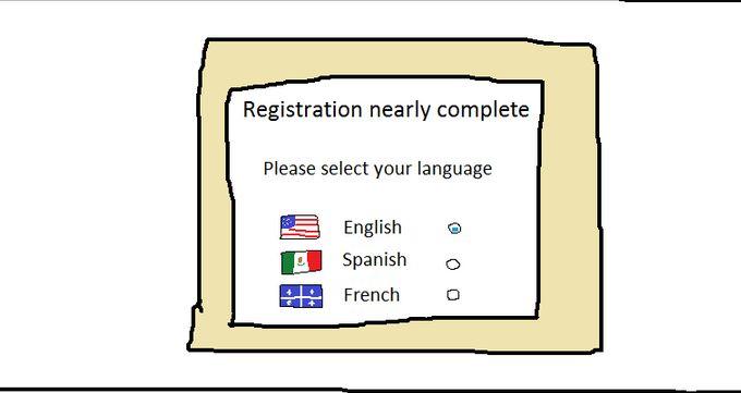 言語を選択して下さい (4)