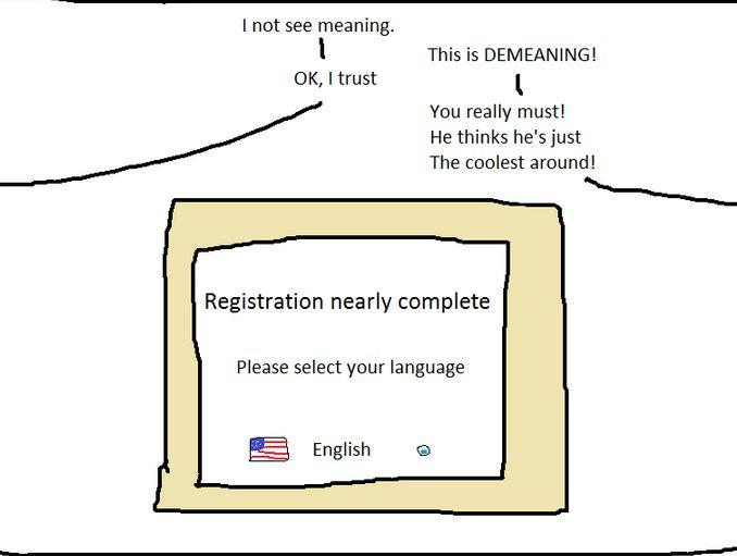 言語を選択して下さい (2)