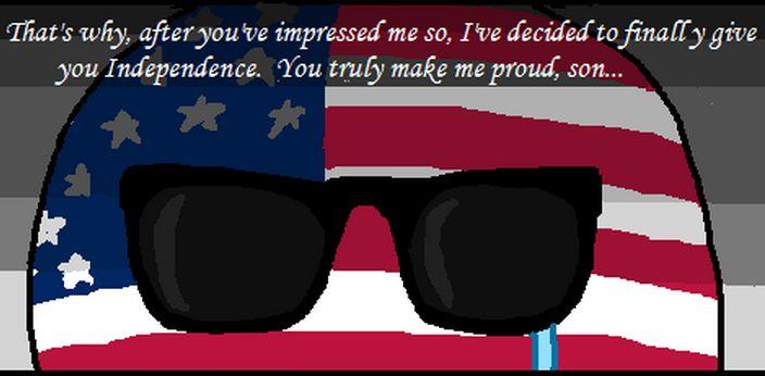 アメリカが独立を認めるよ (4)