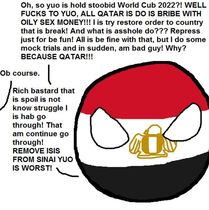 エジプトが悩みを吐き出すよ (5)