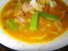 [写真]宮本農業のにんじんジュースで作ったにんじんスープ
