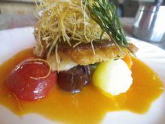 [写真]君津・モンペリエの日替わり魚料理