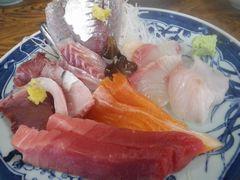 [写真]富浦・福㐂庵の刺身定食