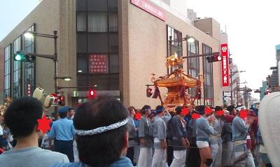 亀有お神輿
