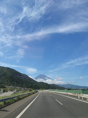 富士山〜!