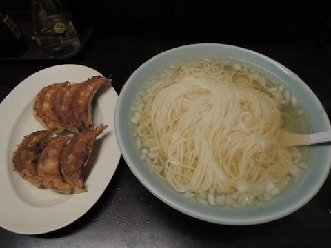 タンメン(400円)+餃子(6ケ)(350円)