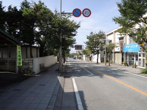 武田通り(甲府駅北口から武田神社への参道)