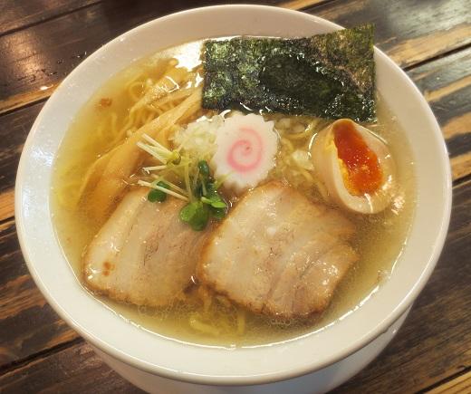 特級煮干金中華・塩(¥750)