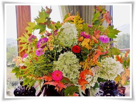 庭の木や花