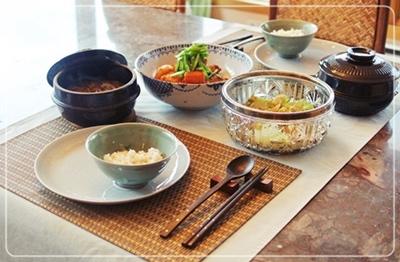 韓国風で夕飯