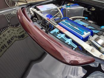 NSXカーボンケブラ― リアガーニッシュ⑬