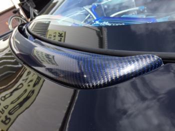 NSXカーボンケブラ― リアガーニッシュ⑮