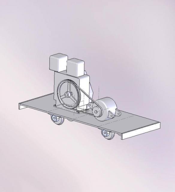ディーゼルシリーズハイブリッド・電気式ディーゼル機関車の構想ポンチ図