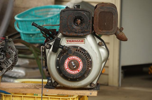 ヤンマーL35 超小型汎用ディーゼルエンジン