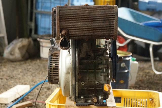 ヤンマーL35 排気側