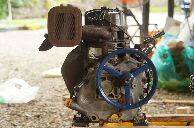 ヤンマーL35_出力軸側
