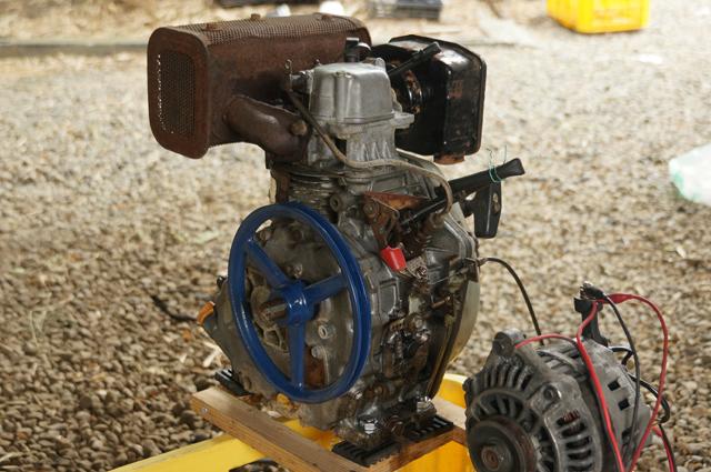 ヤンマーL35 燃料ポンプ側