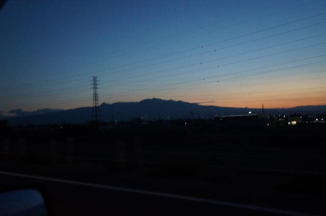あけの赤城山