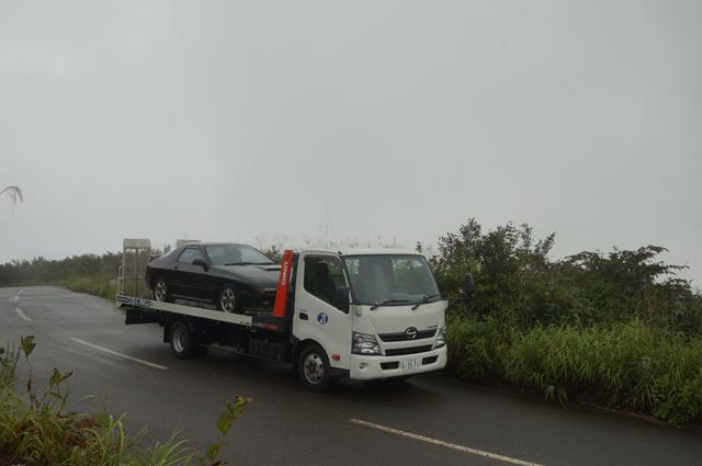 積車で魚沼スカイライン