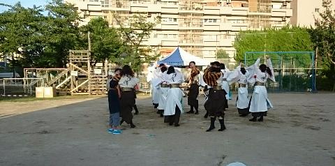 教育大学生・よさこい踊り