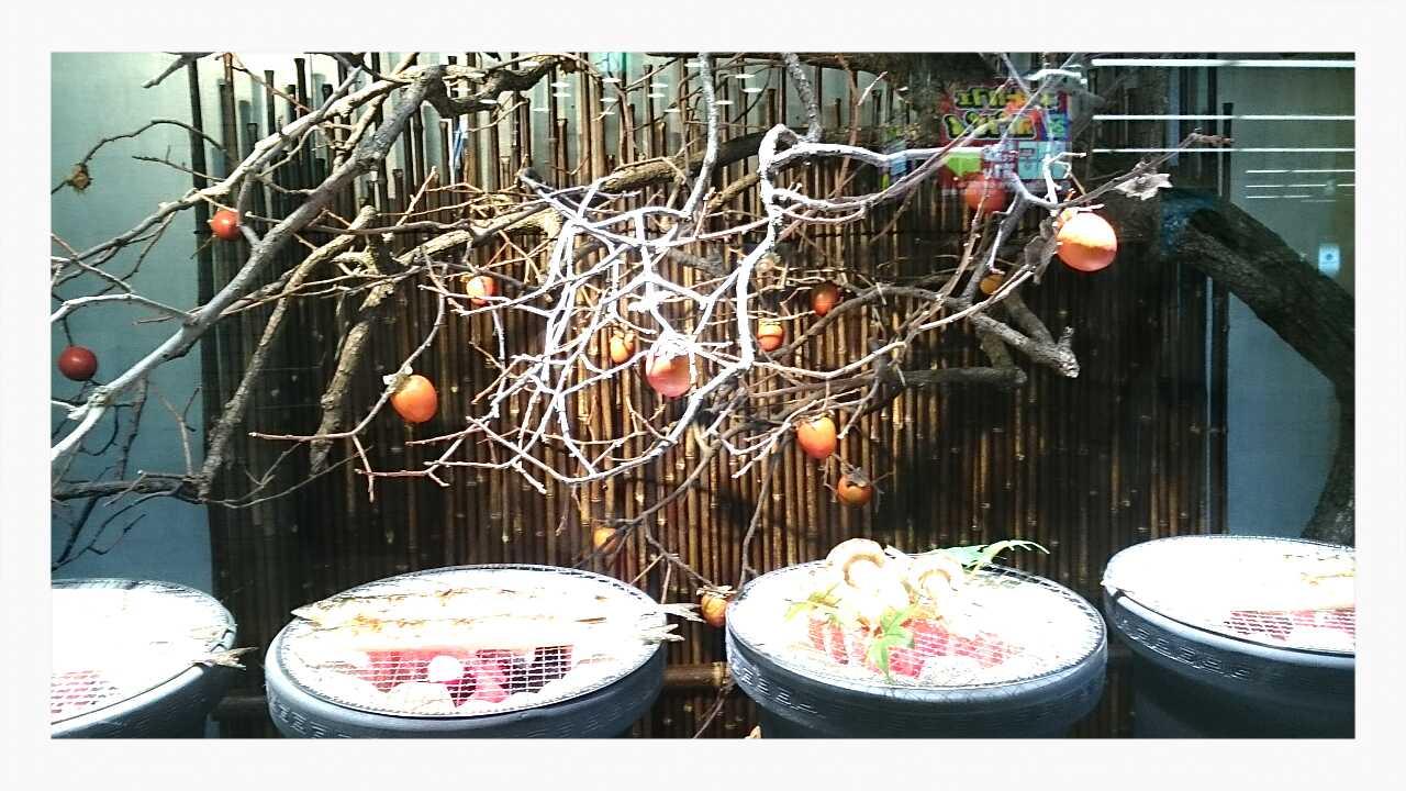 旬の秋/さんま・松茸を七輪で1