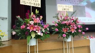 献花・大阪ママ連盟