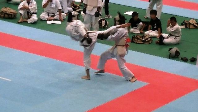 東日本大震災復興祈念全日本防具付空手道選手権大会男子組手1