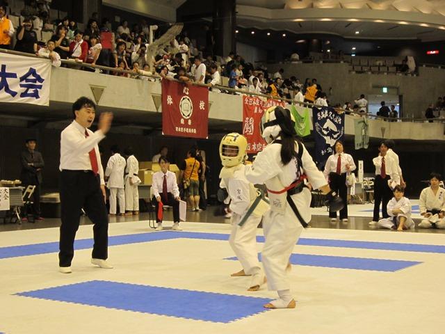 第53回全国防具付空手道選手権大会少年女子の部