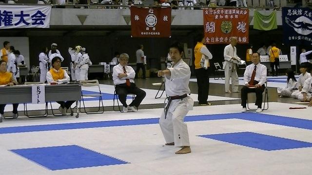 第53回全国防具付空手道選手権大会男子形