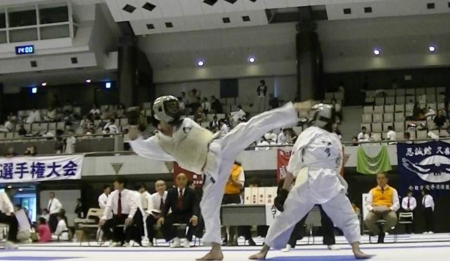 第53回全国防具付空手道選手権大会団体戦1