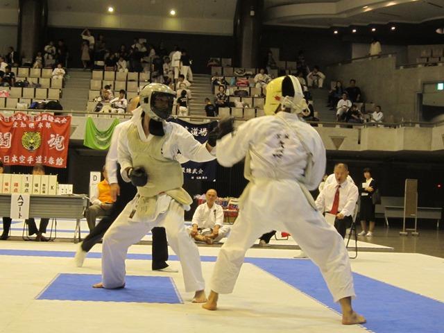 第53回全国防具付空手道選手権大会団体戦2