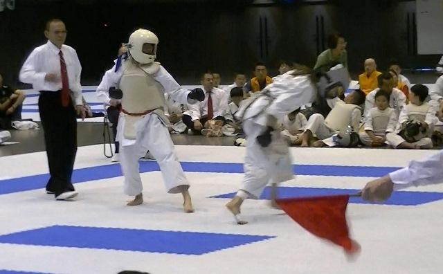 第53回全国防具付空手道選手権大会女子決勝