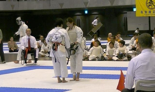 第53回全国防具付空手道選手権大会女子決勝後
