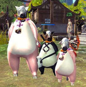 ブータとパンダと馬ぁ