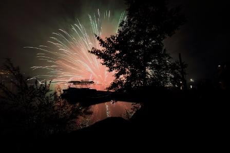 白樺湖夏祭り花火19