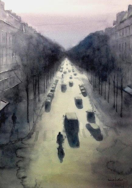 パリ雨上がりB4