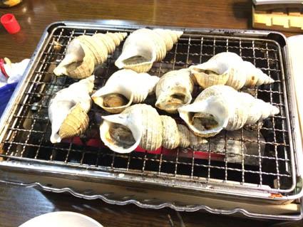 炉辺大将つぶ貝