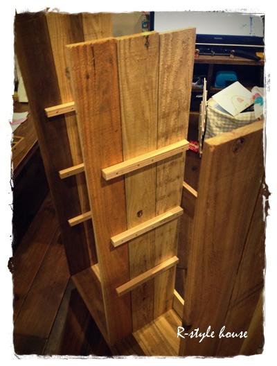 手作り本棚6