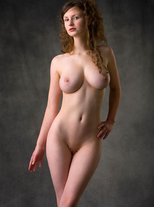 美美巨乳☆天使のエクボ付き美尻☆白い肌☆股間を熱くするパーフェクト・えろ体ww
