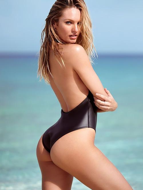 スーパーモデル、キャンディス・スワンポールのぷりケツ水着画像www